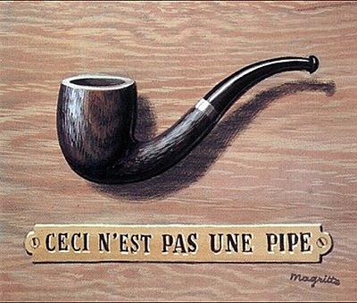 Magritte : Ceci N'est pas une pipe